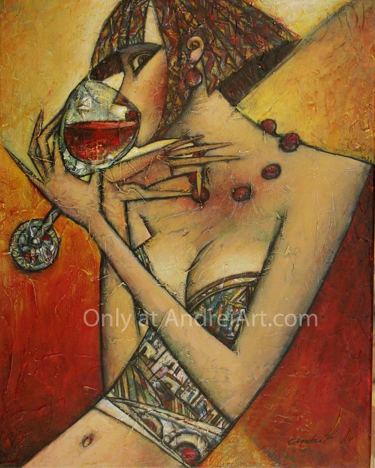 Живопись_Андрей-Процюк_Wine-Collection_Chateauneuf-de-Pap