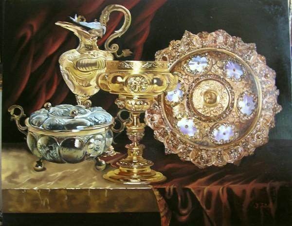 Ф.Тулок.Золото и серебро