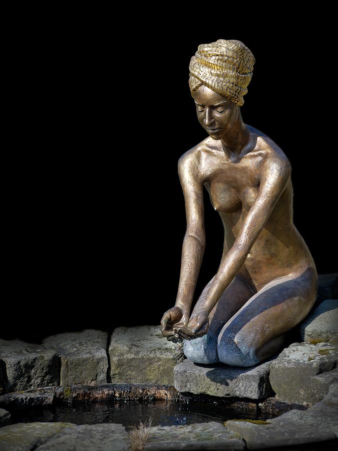 Bronzeskulptur von Malgorzata Chodakowska