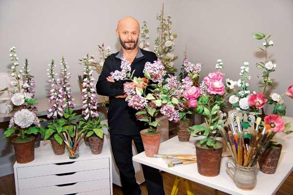 Владимир каневский фарфоровые цветы