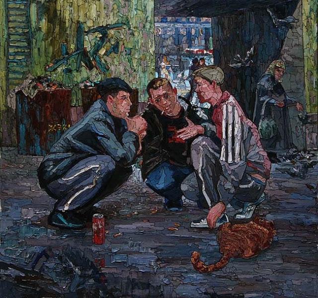 Sergey Sovkov _ paintings _ Russia (2)