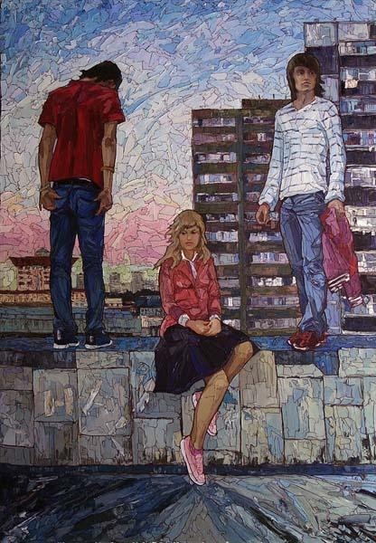 Sergey Sovkov _ paintings _ Russia (22)