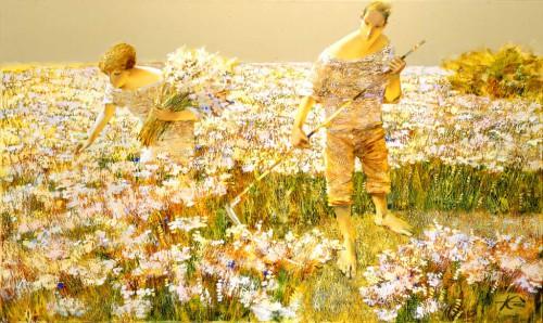2002 Цветы и травы 90х150