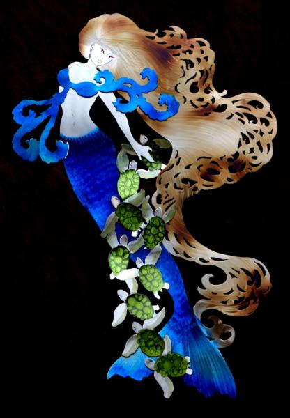mermaidbluetailseaturtles