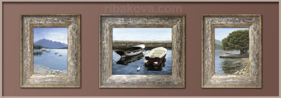 2ybakova_lodki_oil_painting