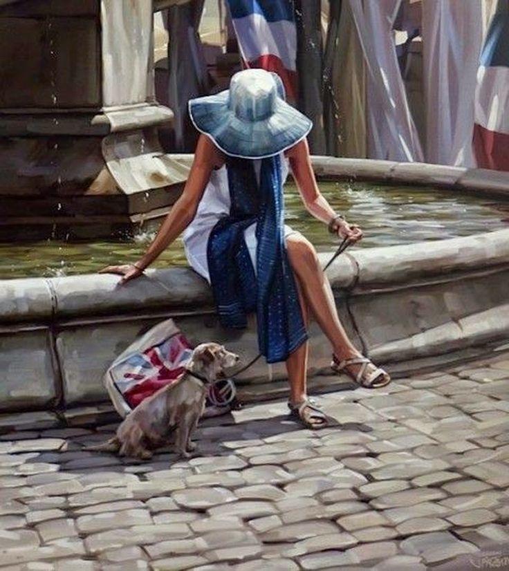 9e3d151a1ed91497d62076b651d935df-hyper-realistic-paintings-woman-art