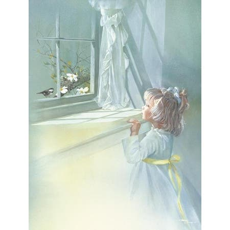 be-still-by-carolyn-blish-children-art-print