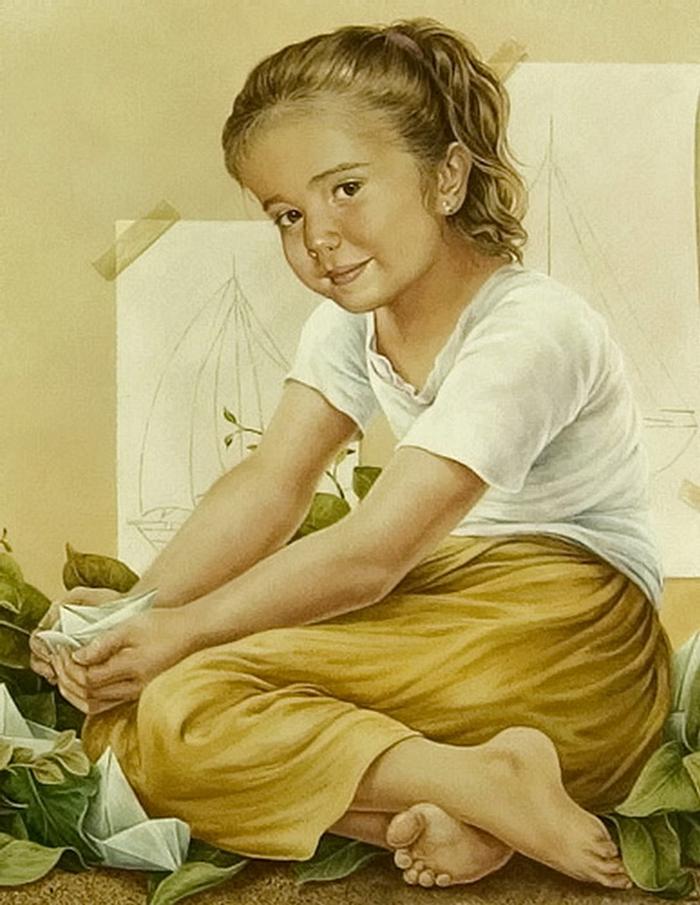Chel_n Sanjuan 1967 - Spanish Magical Realism painter - Tutt'Art@ (17)