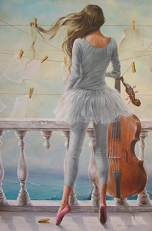 Chel_n Sanjuan 1967 - Spanish Magical Realism painter - Tutt'Art@ (22)