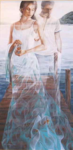 Chel_n Sanjuan 1967 - Spanish Magical Realism painter - Tutt'Art@ (31)