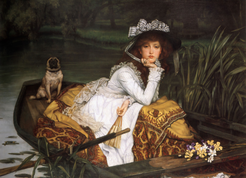 James_Tissot_-_Young_Lady_in_a_Boat