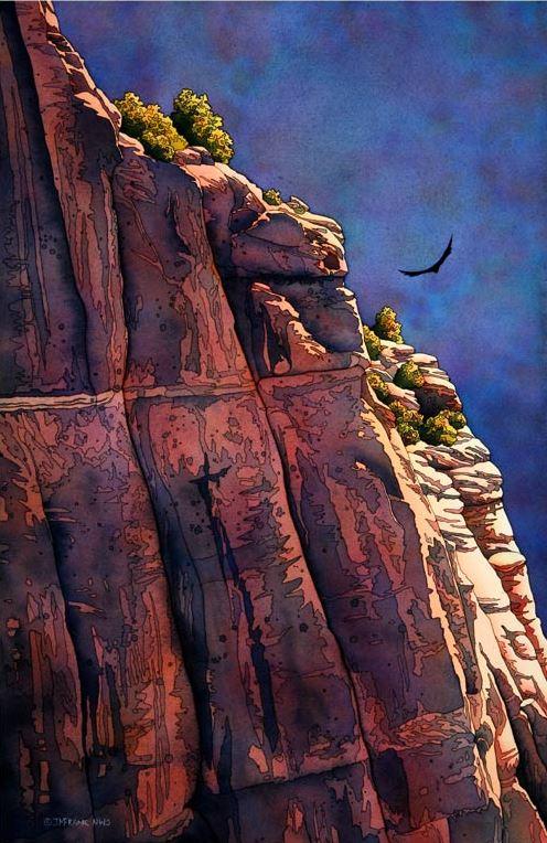 jonathan-frank-nestandartnyie-peyzazhi-akvarelyu-soaring-22h15-dyuymov