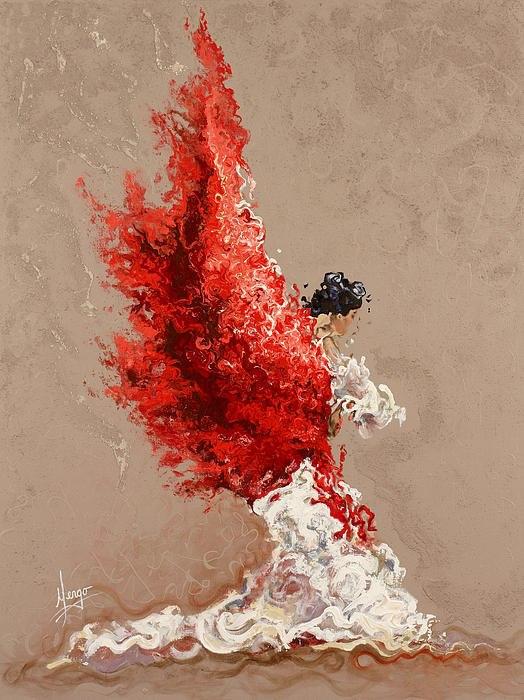 Karina Llergo Salto - American Expressionist painter - Tutt'Art@ (3)