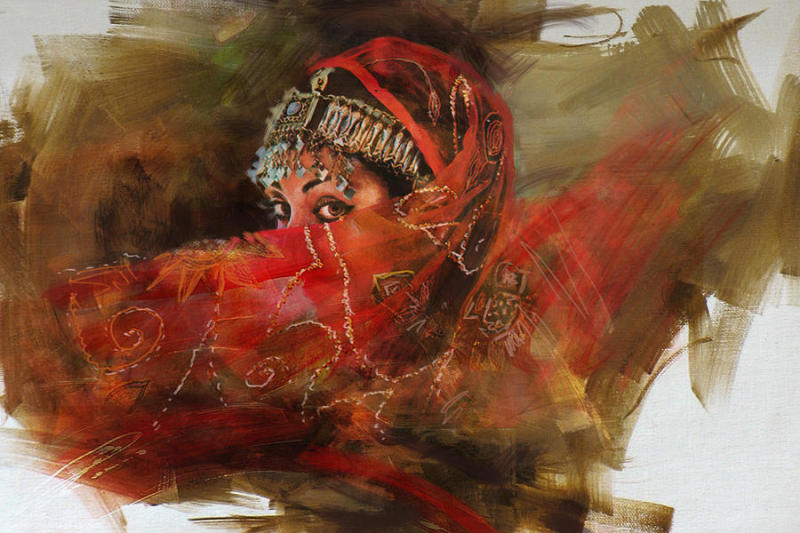 Mahnoor Shah, Abstract painter