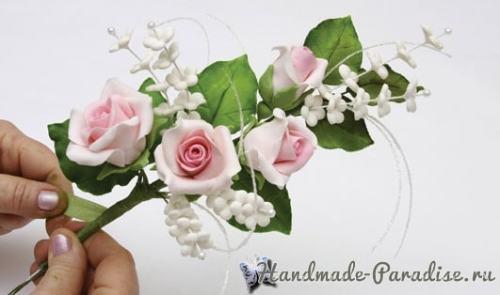 rozyi-iz-saharnoy-mastiki-dlya-svadebnogo-torta-3
