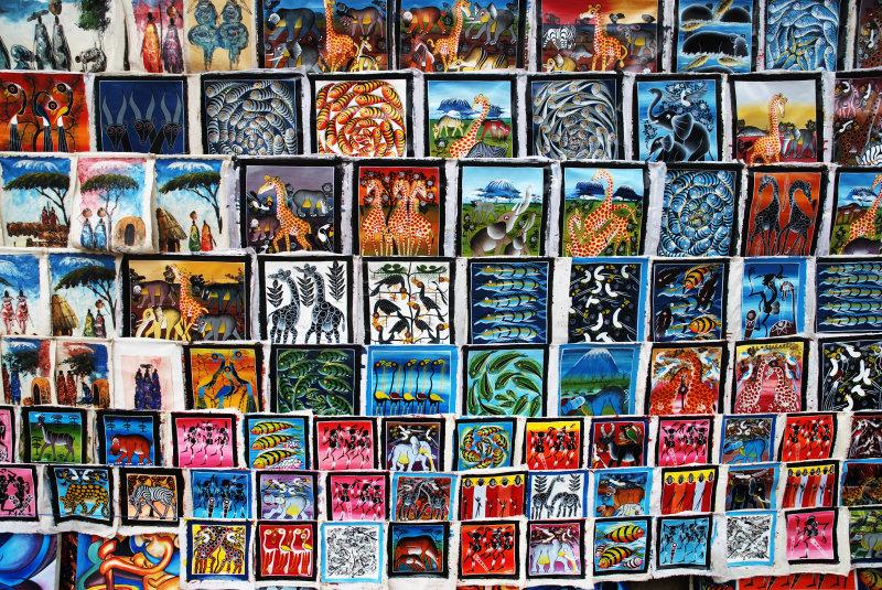 Tingatinga_paintings
