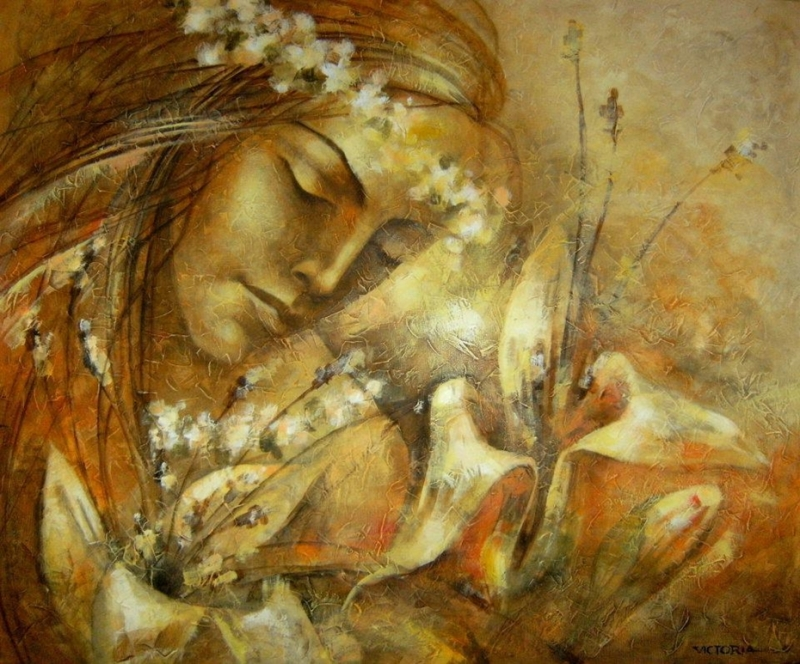Victoria Stoyanova 1968 - Bulgarian Abstract painter - Tutt'Art@ (62)