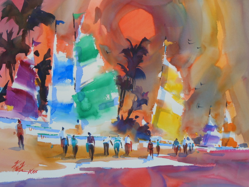 Watercolor Paintings 2013 006