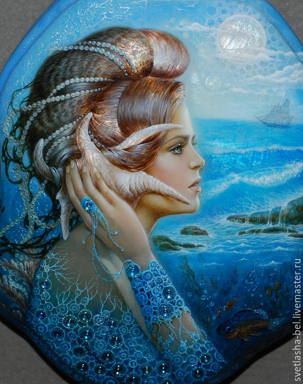 b03dbbc4ffa7e7e96d69db78b51f dlya doma interera skazki sinego morya Завораживающая красота!
