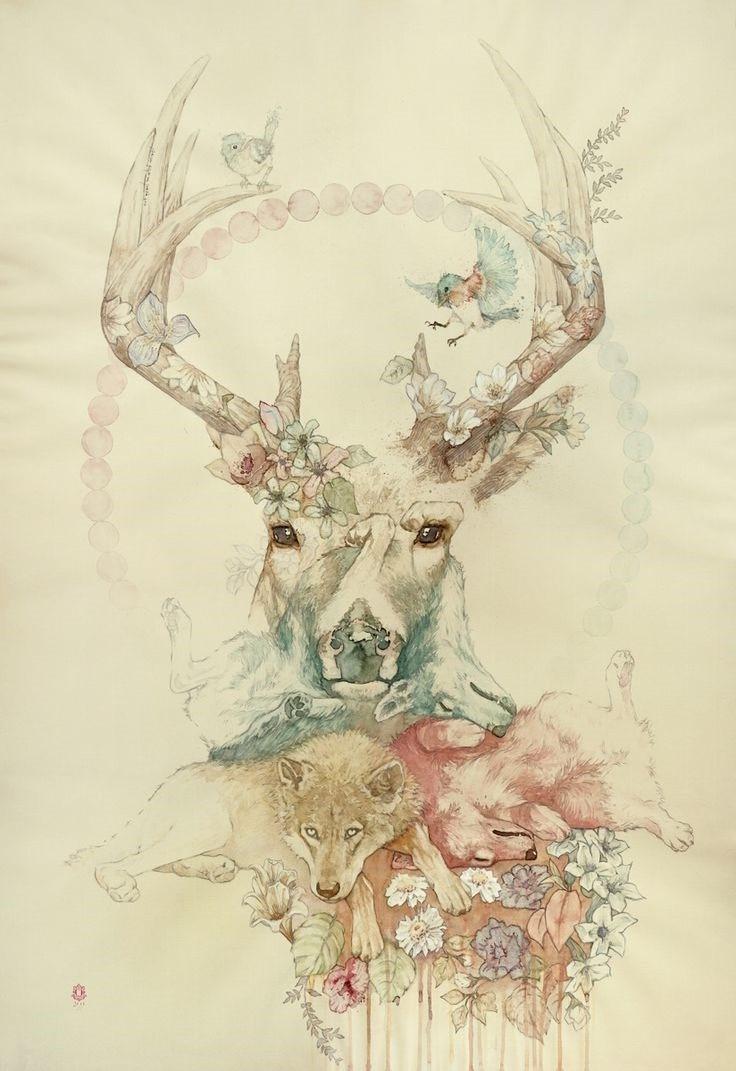 beb776e6d7e33dd9150a266d52e41022-wildlife-art-saatchi-art