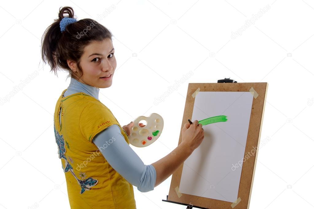 depositphotos_70115285-stock-photo-girl-artist-draws-on-her