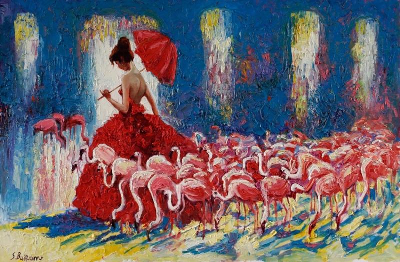 devushka-s-flamingo_-120h80