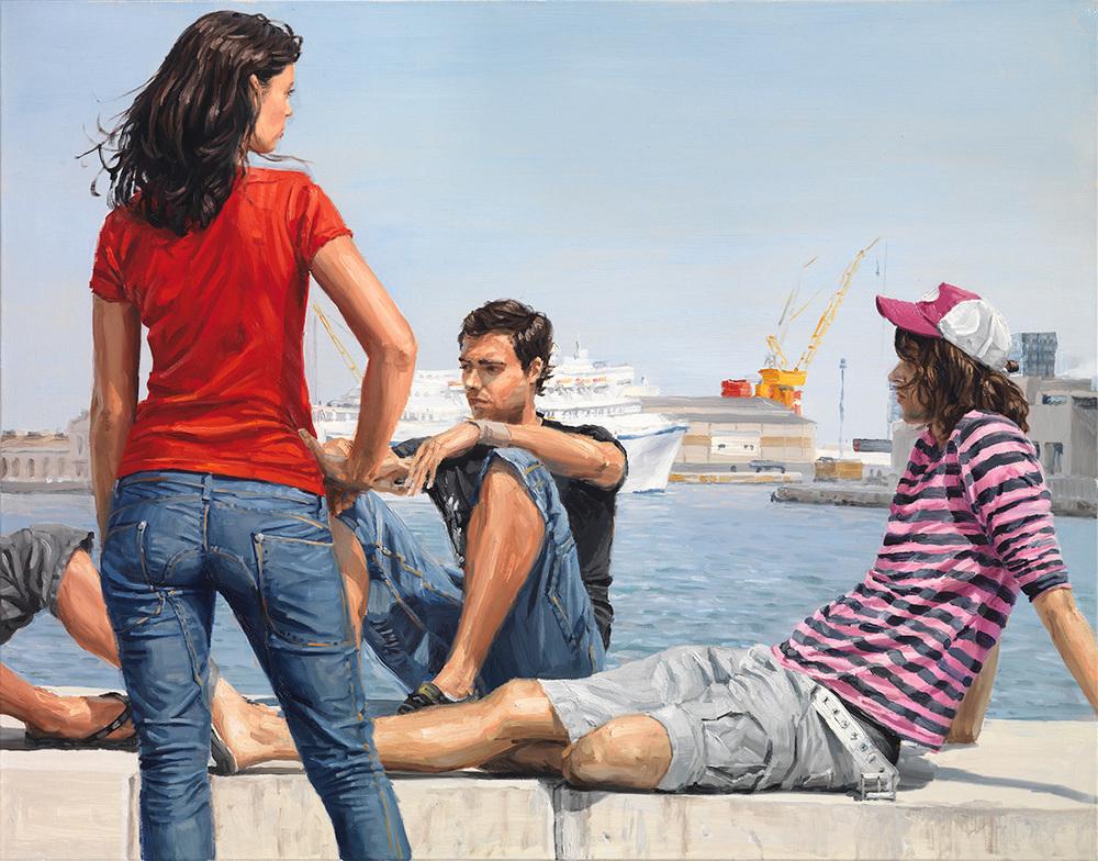 girl-beyond-docks-97x146cm