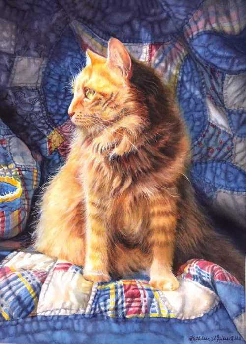 Kathleen Giles Painting