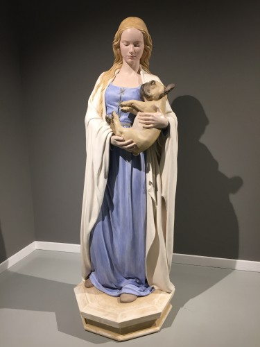 madonna_del_frenchie_2019_polychrome_resin_and_wood_181x64x63_1