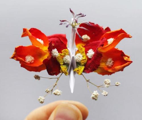 origami-enthusiast-cristian-marianciuc-makes-mini-paper-cranes-with-character-designboom-06