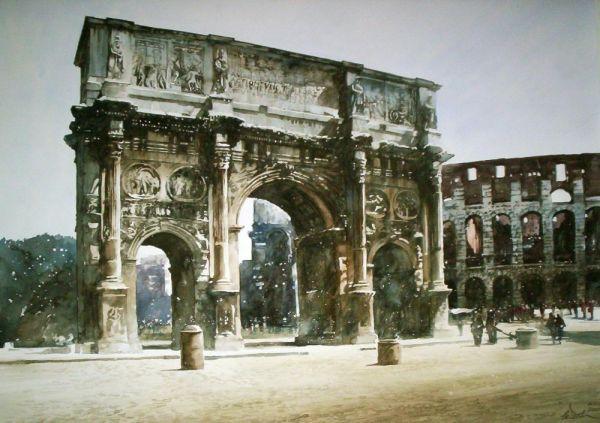 paul-dmoch-vue-de-larc-de-constantini-depuis-la-via-triumphalis-rome-italie-aquarelle-62-x-84-by-paul-dmoch-1400401721_b