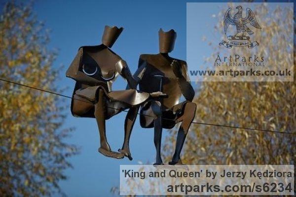 sculpture_artwork_jerzy_kedziora_king_and_queen_1