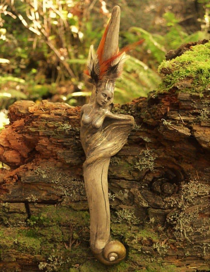 sculptures-debra-bernier-feather-natural-shape
