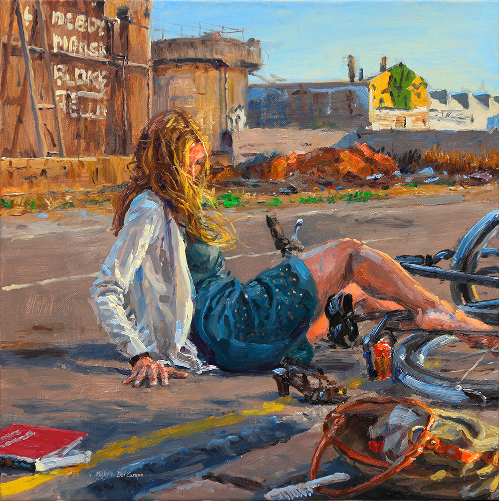 the-fall-lady-on-bicycle-40x40cm-del-campo
