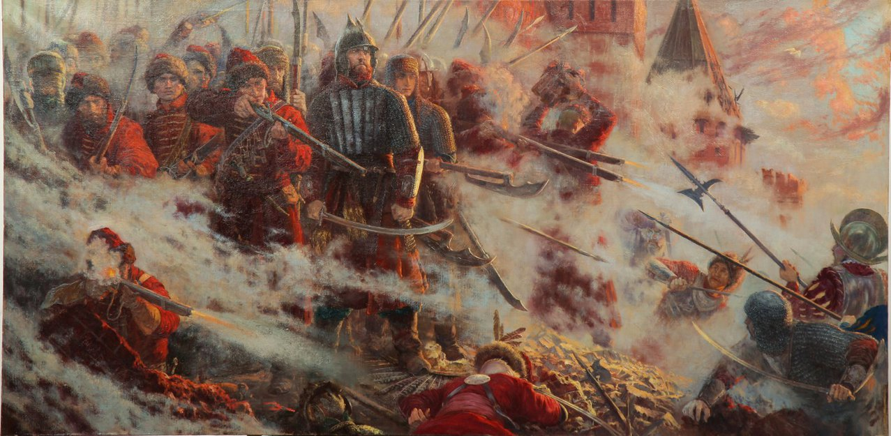 the_wall__the_defense_of_smolensk__1609_1611__by_vladimir_kireev-d5vvd8y