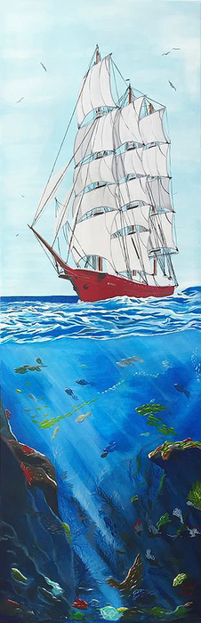 www-artsgallery-pro_fazal_elen_parusnik_i_okean_medium_247350